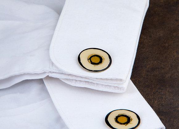 Ocher Miro cufflinks