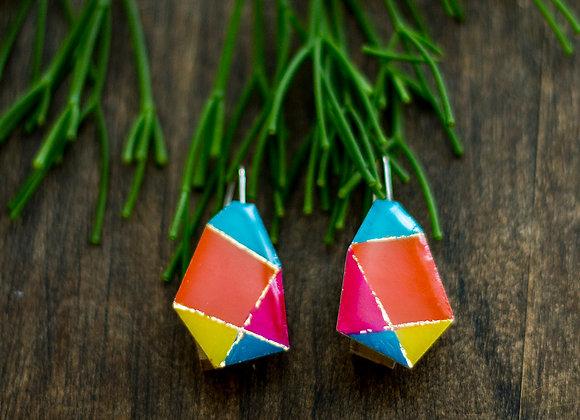 Boucles d'oreilles pendantes -Joan-713