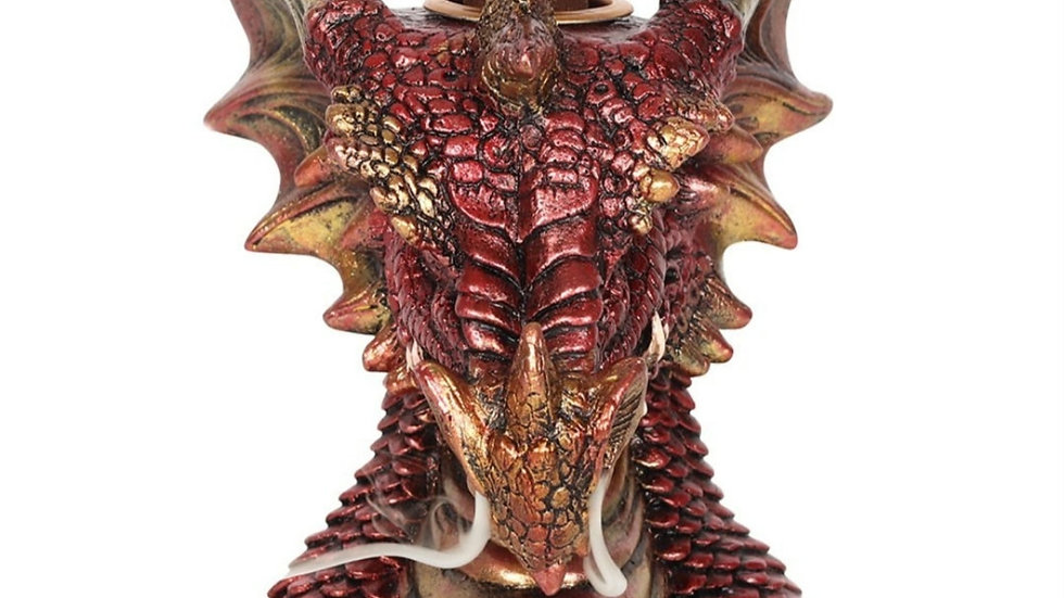 Small Red dragon head backflow