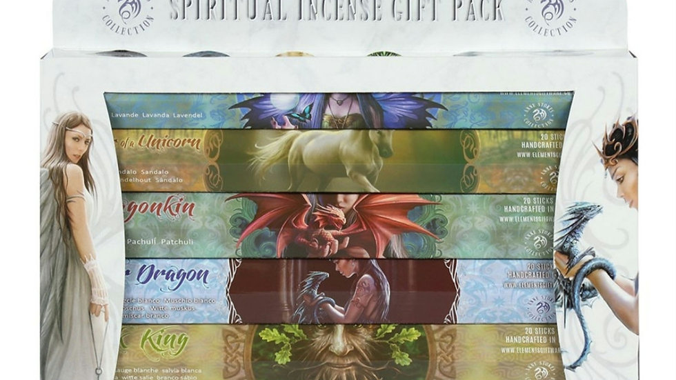 Spiritual incense gift set by Anne Stoke