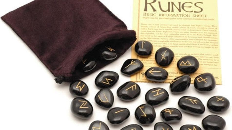 Black jasper runes
