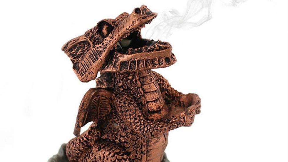 Red Dragon incense cone burner