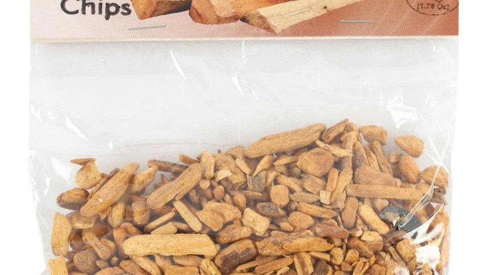 Palo Santo wood chips.