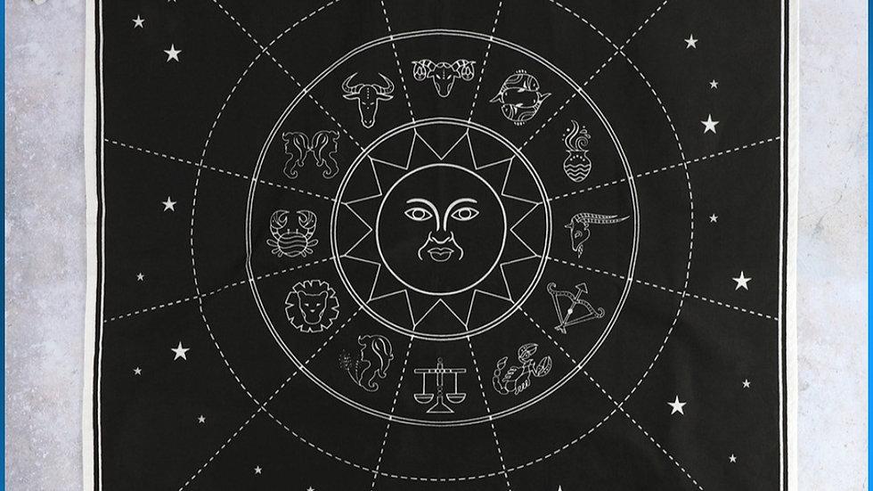 Astrology altar cloth