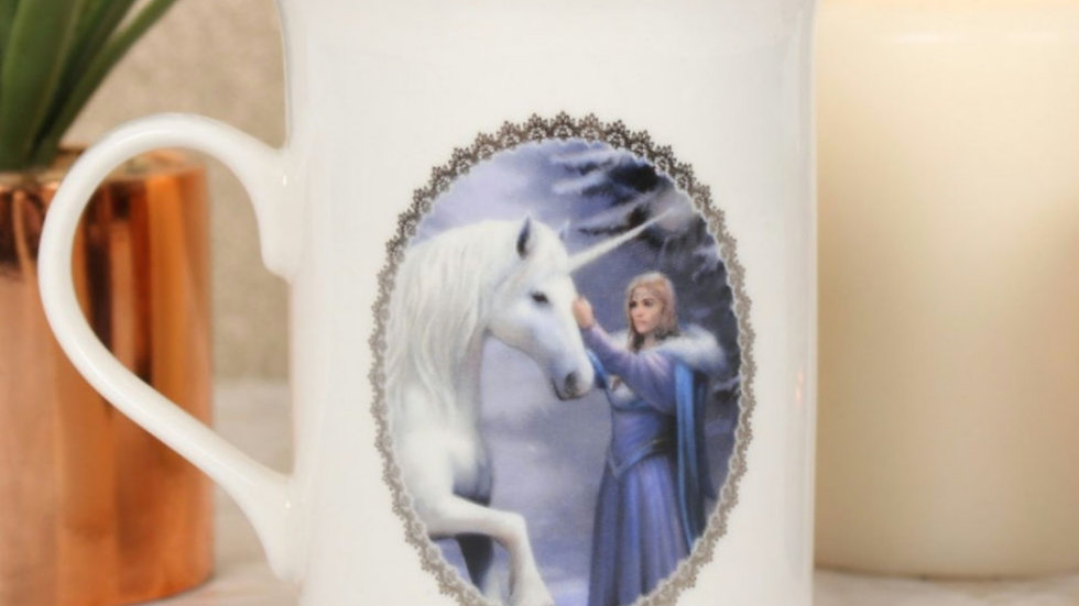 Pure magic bone china mug