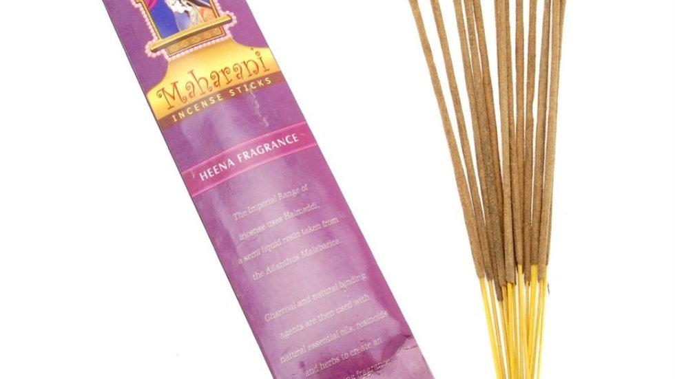 Maharani heena incense sticks