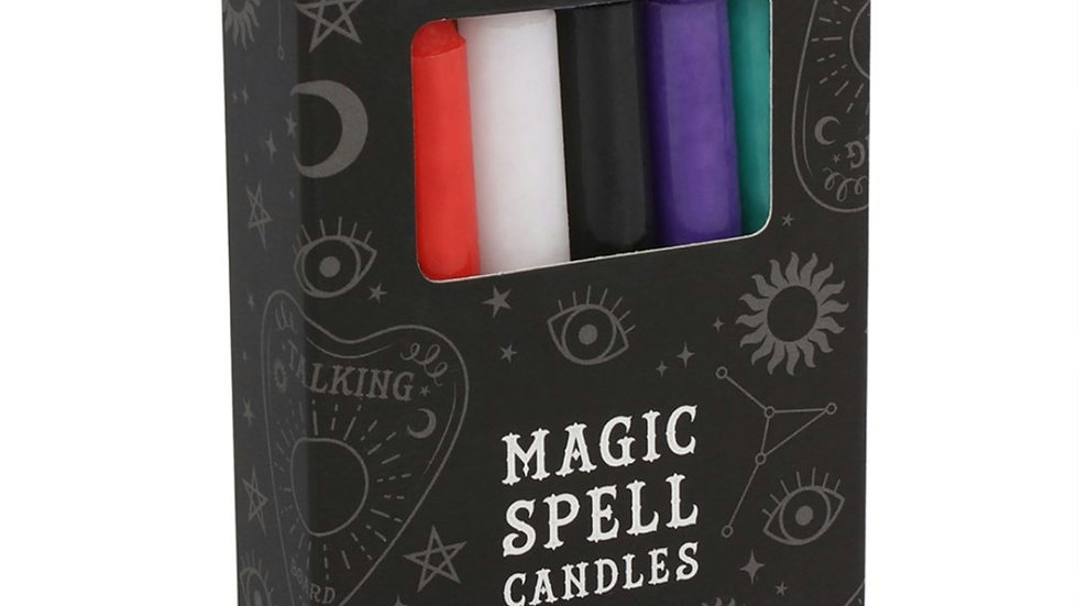 Spell candles