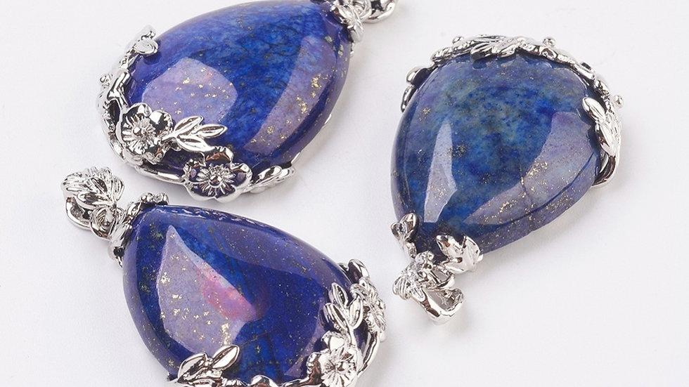 Lapis Lazuli tear drop