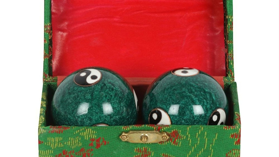 Green metal stress balls