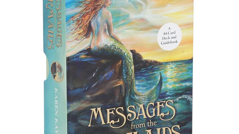 The Messages from the Mermaids card deck by Karen Kay