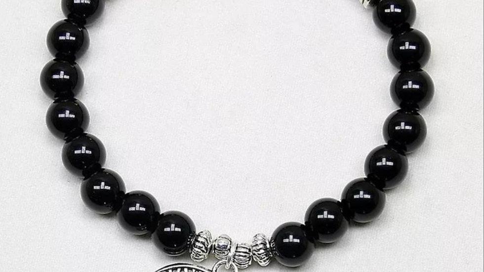 Chakra Tree of life crystal bracelet