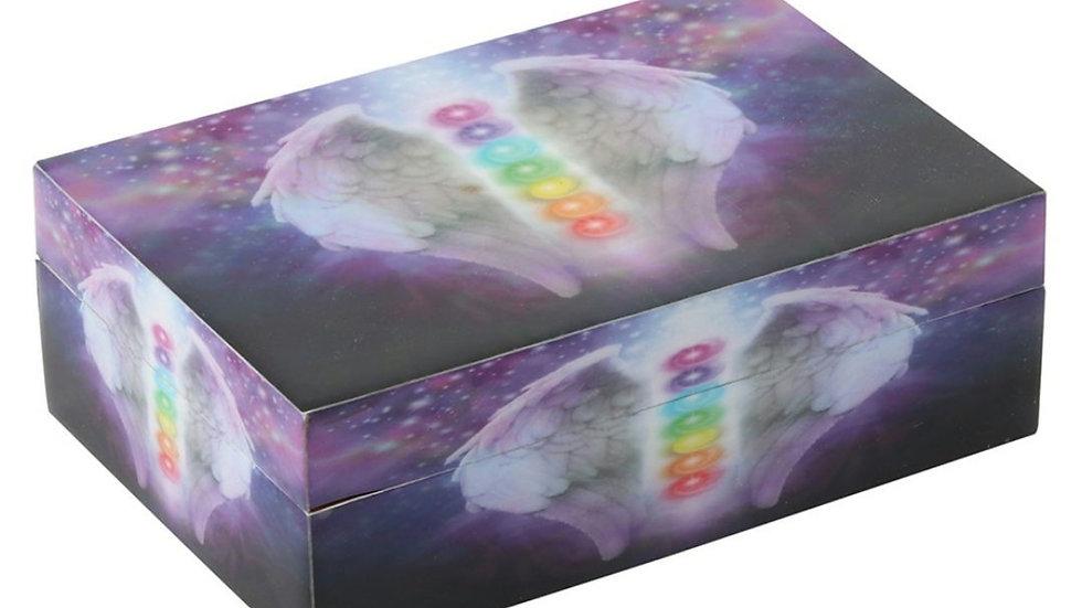 CHAKRA ANGEL WING STORAGE BOX