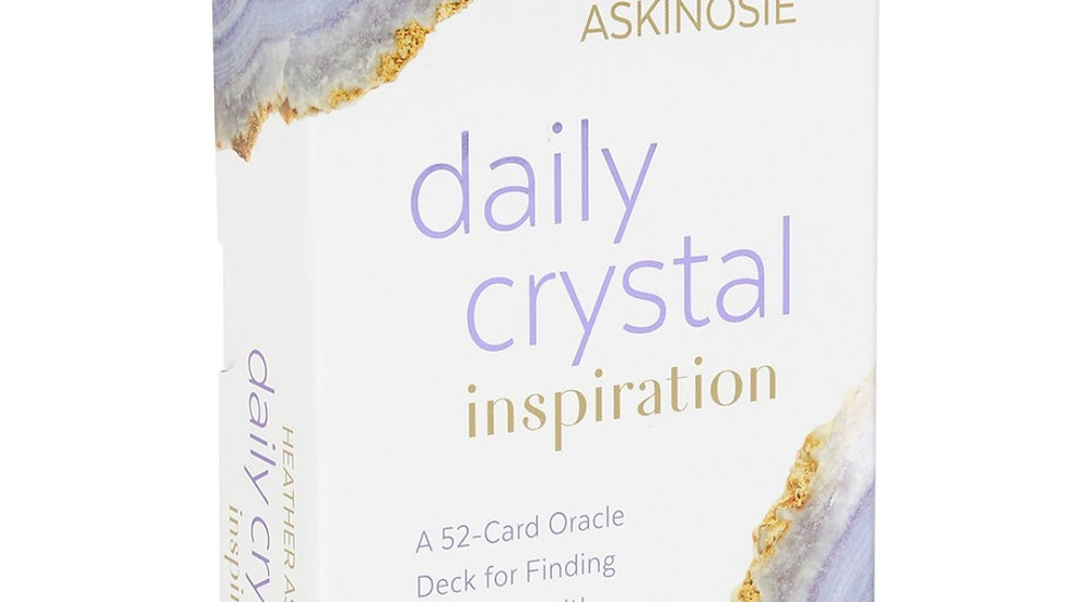 Daily crystal inspiration cards by Heather Askinosie