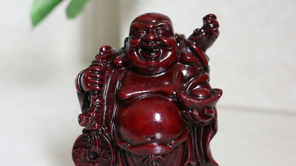Wealth laughing Buddha