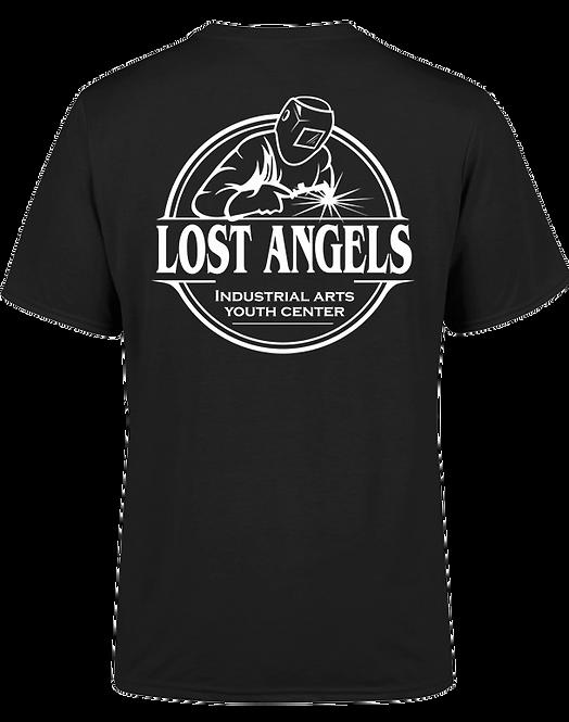 Lost Angels circle logo t-shirt