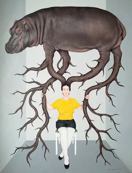 Ağırlık 2 / Heaviness 2 - 100cm x 130cm - Tuval üzerine akrilik / Acrylic on canvas - 2021