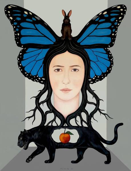 Önsezi 2 / Foresight 2 - 100cm x 130cm - Tuval üzerine akrilik / Acrylic on canvas - Özel Koleksiyon / Private Collection - 2021