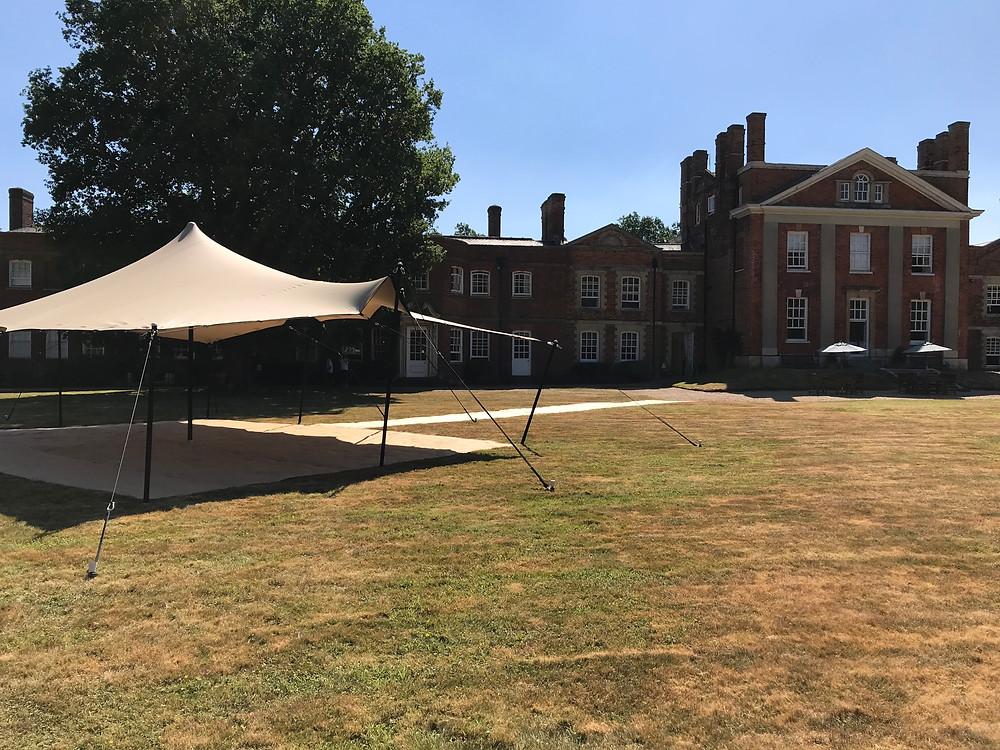 Wedding Reception Stretch Tent
