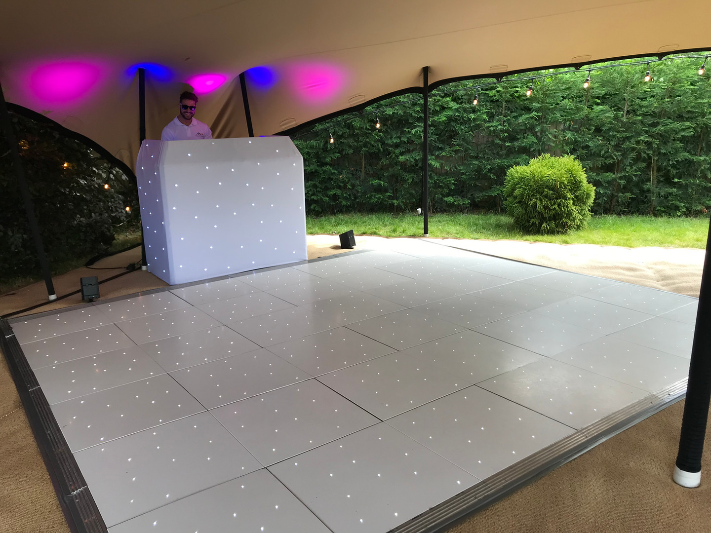 Dancefloor in Stretch Tent Marquee
