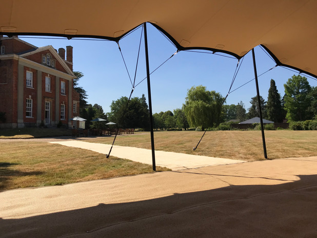 Warbrook House Tent Wedding