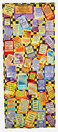 Text Messages Quilt