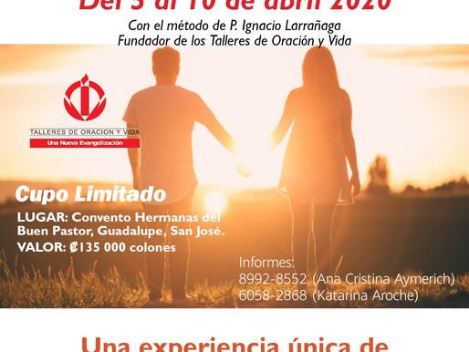 Encuentro de Experiencia de Dios, 2020