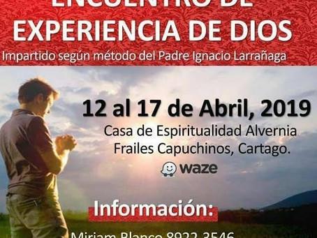 Encuentro de Experiencia de Dios 2019