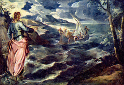 Sobre las aguas de la vida (Mc 6, 45-52)