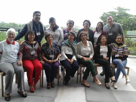 Coordinadores Nacionales de la Coordinación Zonal Centroamérica en Asamblea Internacional.