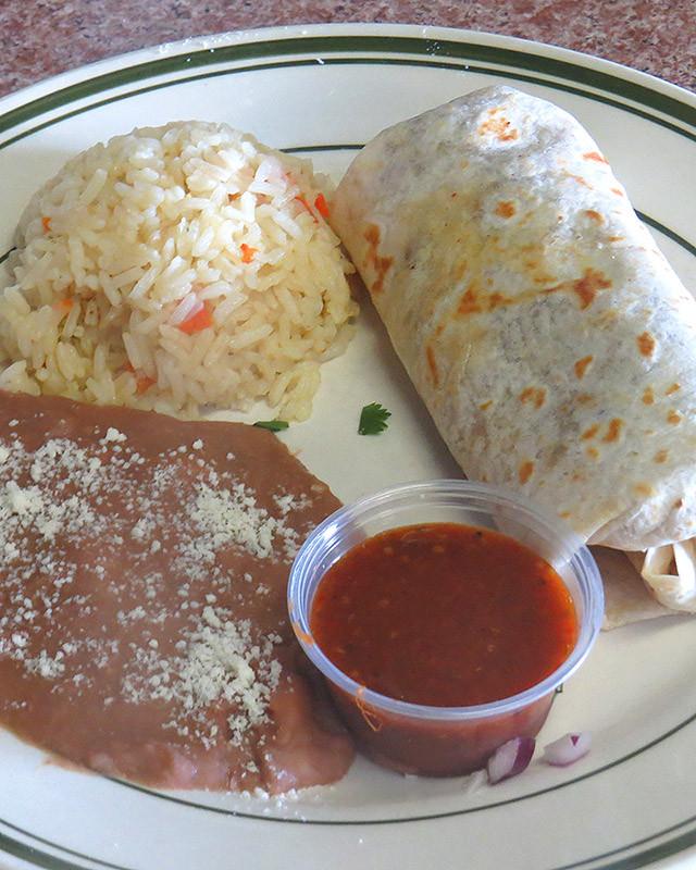 Lunch Burrito