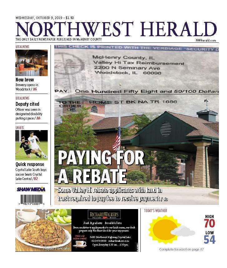 Northwest Herald (IL) - 09 October 2019