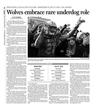 Northwest Herald (IL) - 30 November 2019