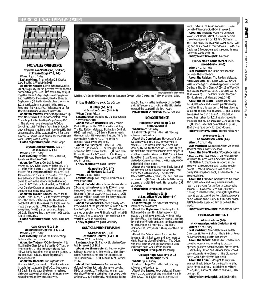 Northwest Herald (IL) - 24 October 2019