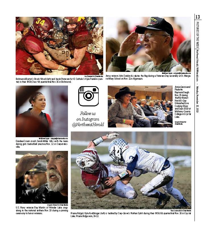 Northwest Herald (IL) - 25 November 2019