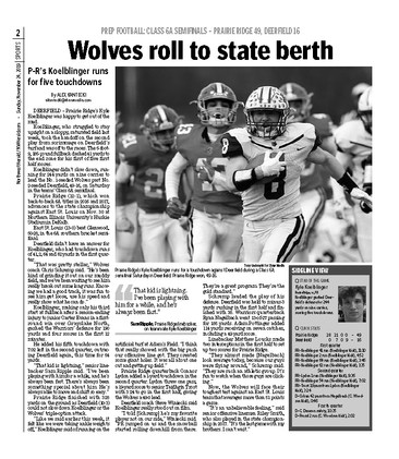Northwest Herald (IL) - 24 November 2019