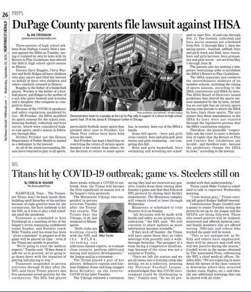 Northwest Herald (IL) - 30 September 2020