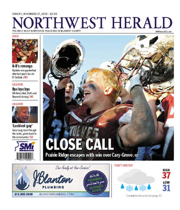 Northwest Herald (IL) - 17 November 2019