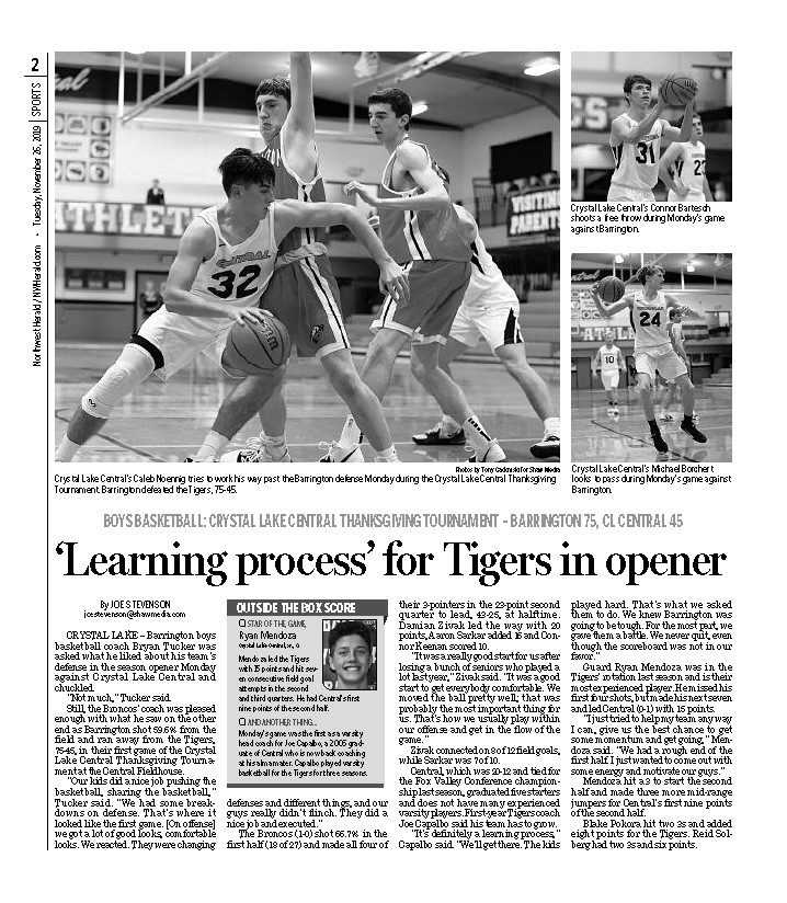 Northwest Herald (IL) - 26 November 2019