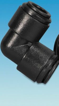 Equal Elbow Connector - 12mm