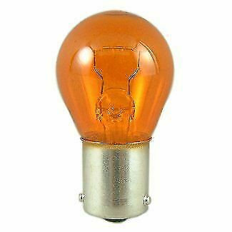 12v 21w Amber Bulb Single Contact 15mm ba15s