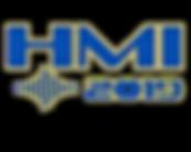 HMI 2019 Logo - Blue, Gold Outline - No