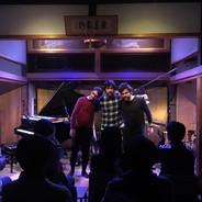 show do Antonio Loureiro Trio no Inryo-ji Temple na cidade de Okayama, Japão (03/12/2019)