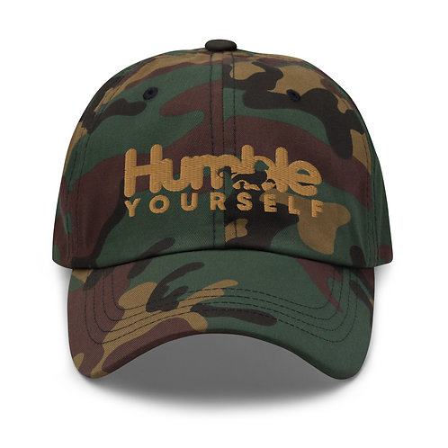 Humble Yourself Camo Dad hat