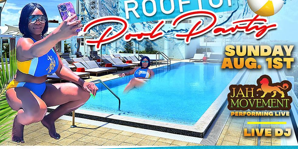 Reggae Rooftop Pool Party