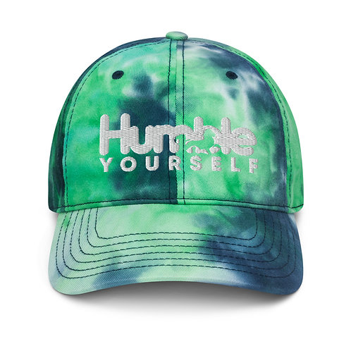 Humble Yourself Tie dye hat