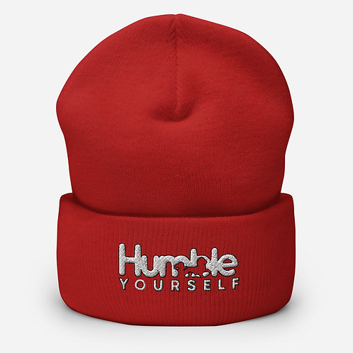 Humble Yourself Cuffed Beanie (Additional Colors Available)