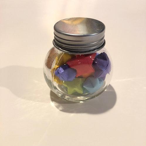 Jar of 15 Lucky Stars