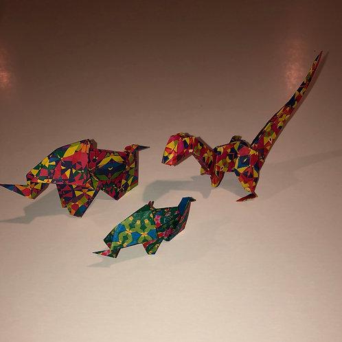 Dinosaur and Elephant Set