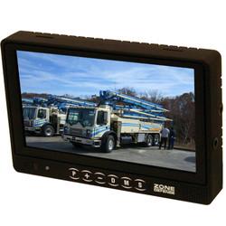 Zone Defense 7 inch flat monitor