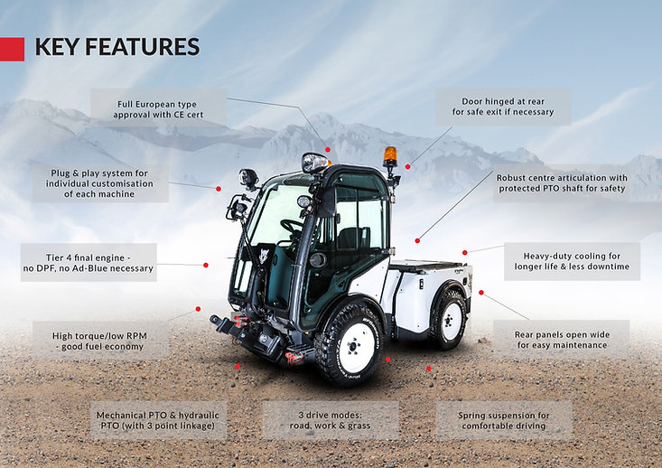 Multihog CX key features